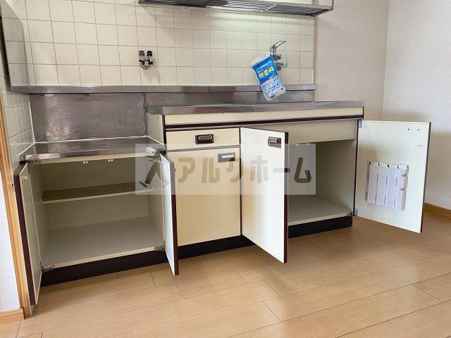 【キッチン】大県マンション2