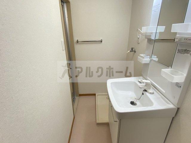 【洗面所】大県マンション2