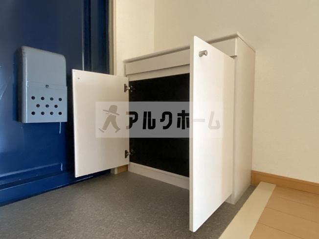 【玄関】大県マンション2