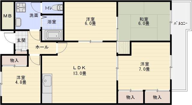 河内国分駅 道明寺駅 東向き