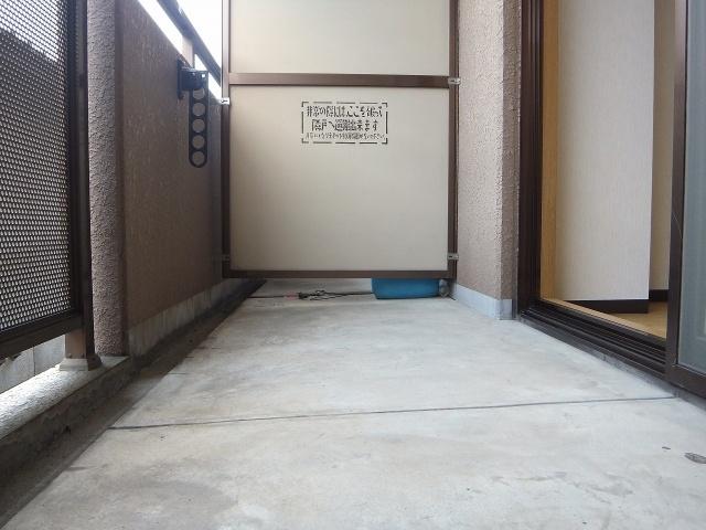 【バルコニー】トレイズ3