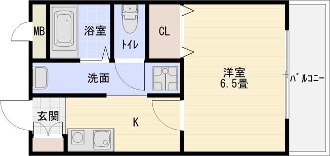 パブリックマンション2(大阪教育大前駅) 1K