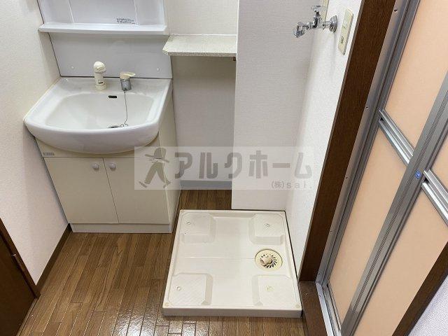 ヴィクトリーレジデンス(柏原市国分本町) 洗髪洗面化粧台