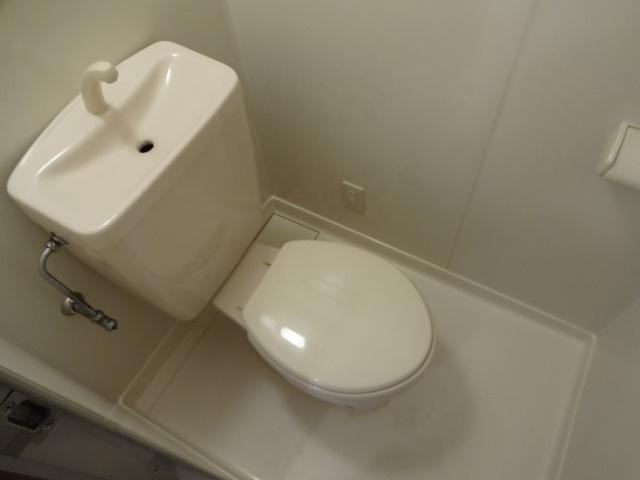 【トイレ】フローラルマンション