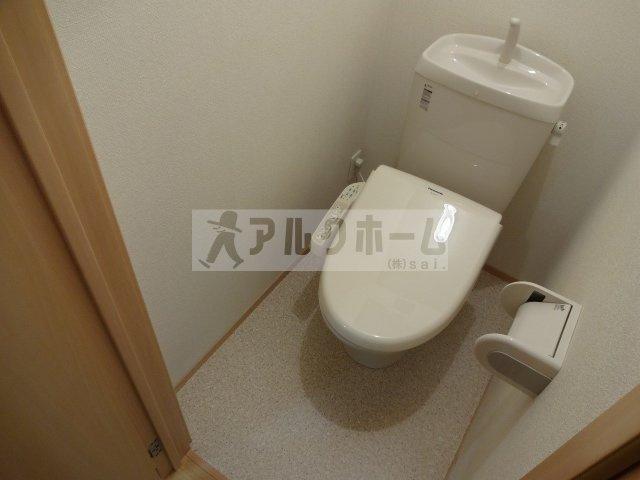 エスポワールB(柏原市片山・河内国分駅) お手洗い