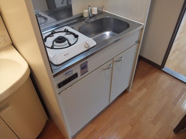 【キッチン】にしみマンション