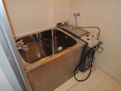 【浴室】ロアール川上