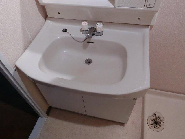 ハイツにしわだに 独立洗面台