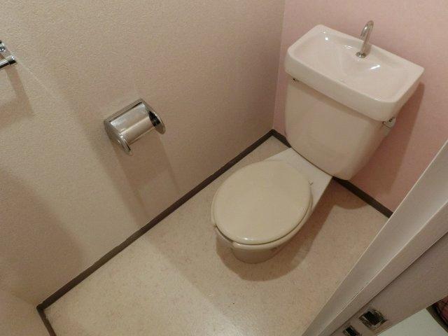 ハイツにしわだに トイレ