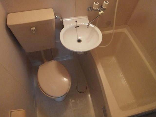 【浴室】サンビレッジ柏原