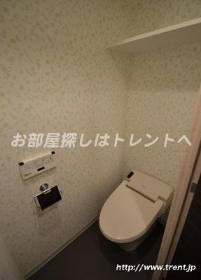 【トイレ】ルリオン初台