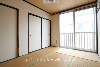 【寝室】飯塚コーポ