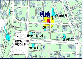 【地図】アセットアルファビル