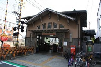 南海本線 諏訪ノ森駅