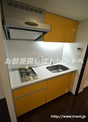 【キッチン】プライムアーバン新宿内藤町