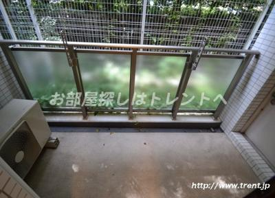 【バルコニー】プライムアーバン新宿内藤町