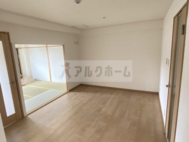 【居間・リビング】パールハイツ21