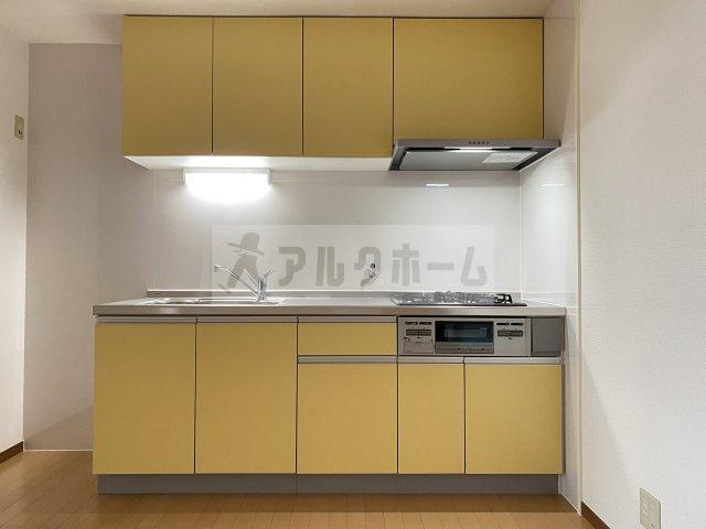 【キッチン】メゾンハピネス