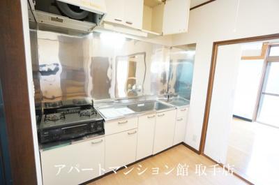 【キッチン】第5ニューテラスオオハラ