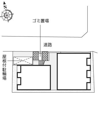 【区画図】レオネクスト18番館