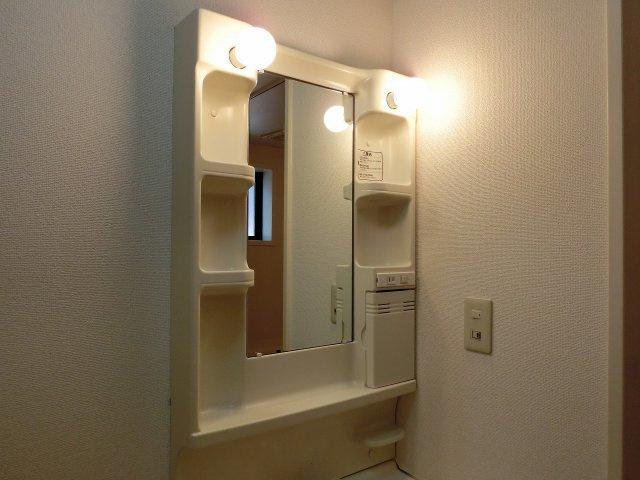 ドリーム5(柏原市太平寺) 照明付き洗面台