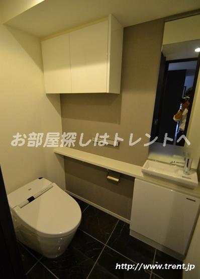【トイレ】ジオ西新宿ツインレジデンス ウエスト棟