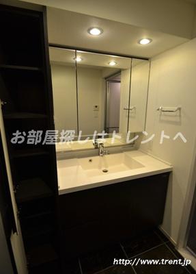 【独立洗面台】ジオ西新宿ツインレジデンス ウエスト棟