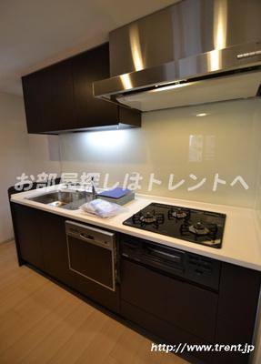【キッチン】ジオ西新宿ツインレジデンス ウエスト棟