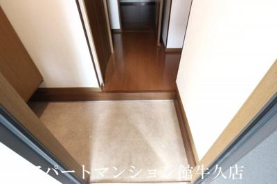 【玄関】ブルースカイ