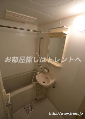 【浴室】マリオン新宿河田