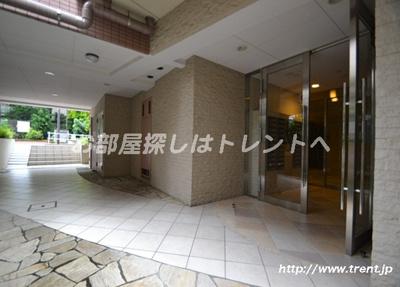 【ロビー】マリオン新宿河田