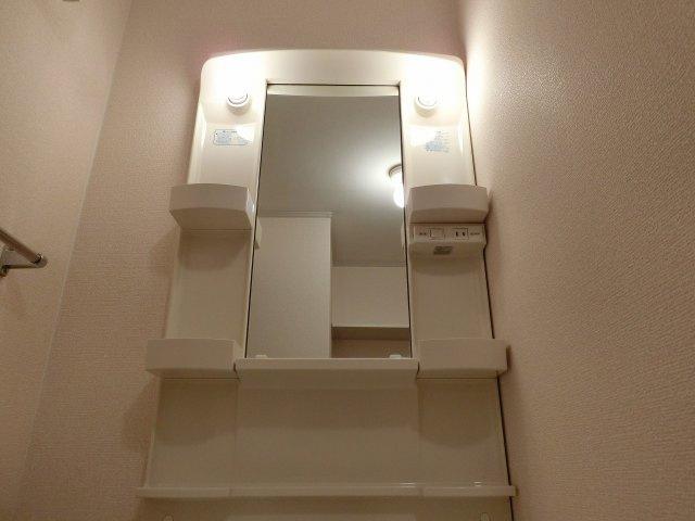 エトワールコート(柏原市安堂町) 照明付き洗面台