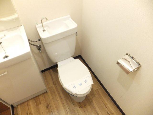 【トイレ】コーポ滝沢