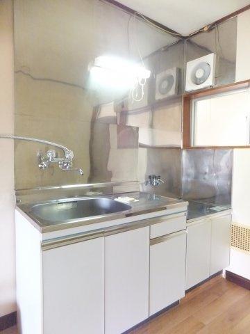 【キッチン】コーポ滝沢
