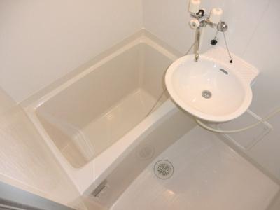 【浴室】レオパレス高尾Ⅰ