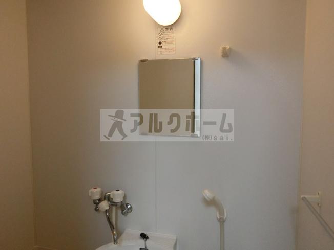ウィール(柏原市田辺 河内国分駅) 浴室鏡付