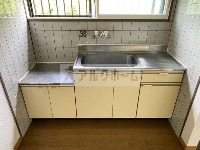 【キッチン】ハイツハピネス
