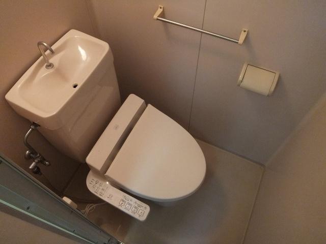 【トイレ】ハイツハピネス