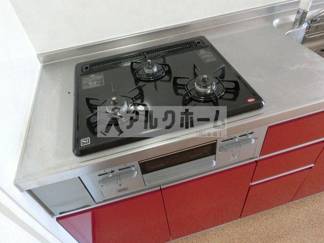 メゾンドルチェ伸和(柏原市法善寺) システムキッチン