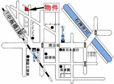 【地図】カーサロッソ