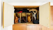 賃貸住宅で「鞄」をすっきり収納するアイディア&グッズの画像
