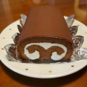 絶品ロールケーキとお客様ご案内!!の画像