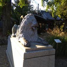 旧池袋三越のライオンは今の画像