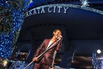 MISAKABANDライブ@クリスマスマーケット天神の画像