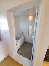 【お風呂リフォーム】バランス釜式給湯を壁掛け室外給湯へ進化‼の画像