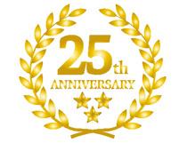 25周年記念キャンペーンのお知らせの画像