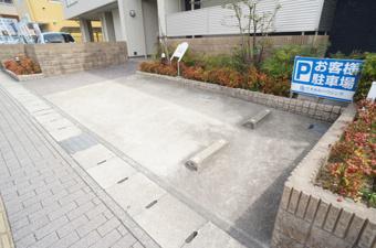 当店お客様駐車場のご案内の画像