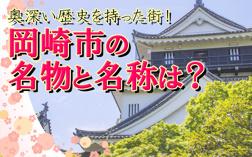 奥深い歴史を持った街!岡崎市の名物と名称は? の画像