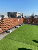 真冬の快晴 第二ビルの屋上に来ましたの画像