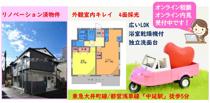 リノベーション済みの賃貸アパート1LDK★中延駅徒歩5分の画像